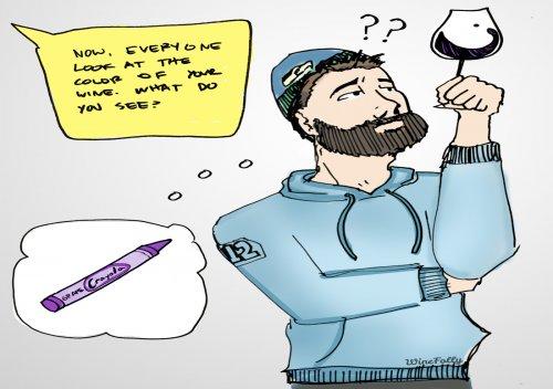 Học cách ghi chú khi nếm thử rượu vang