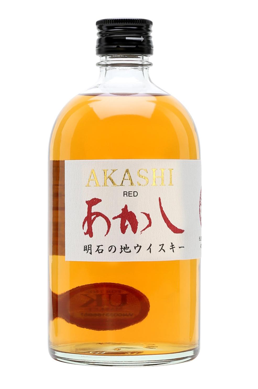 Rượu Akashi Red Blended Whisky 40% 500ml