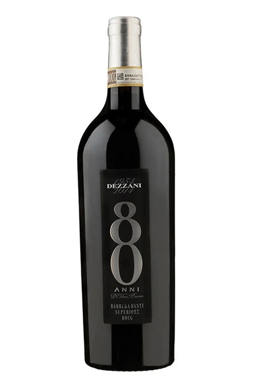Rượu vang đỏ Ý 80 Anni Barbera DOCG