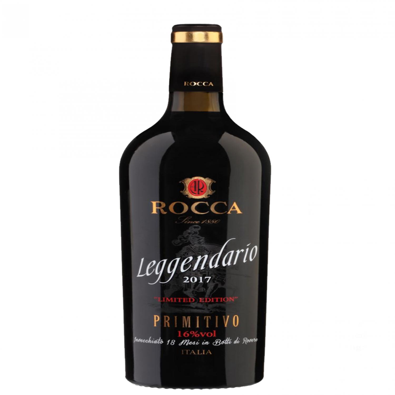 Rượu vang đỏ Ý Leggendario Primitivo IGT
