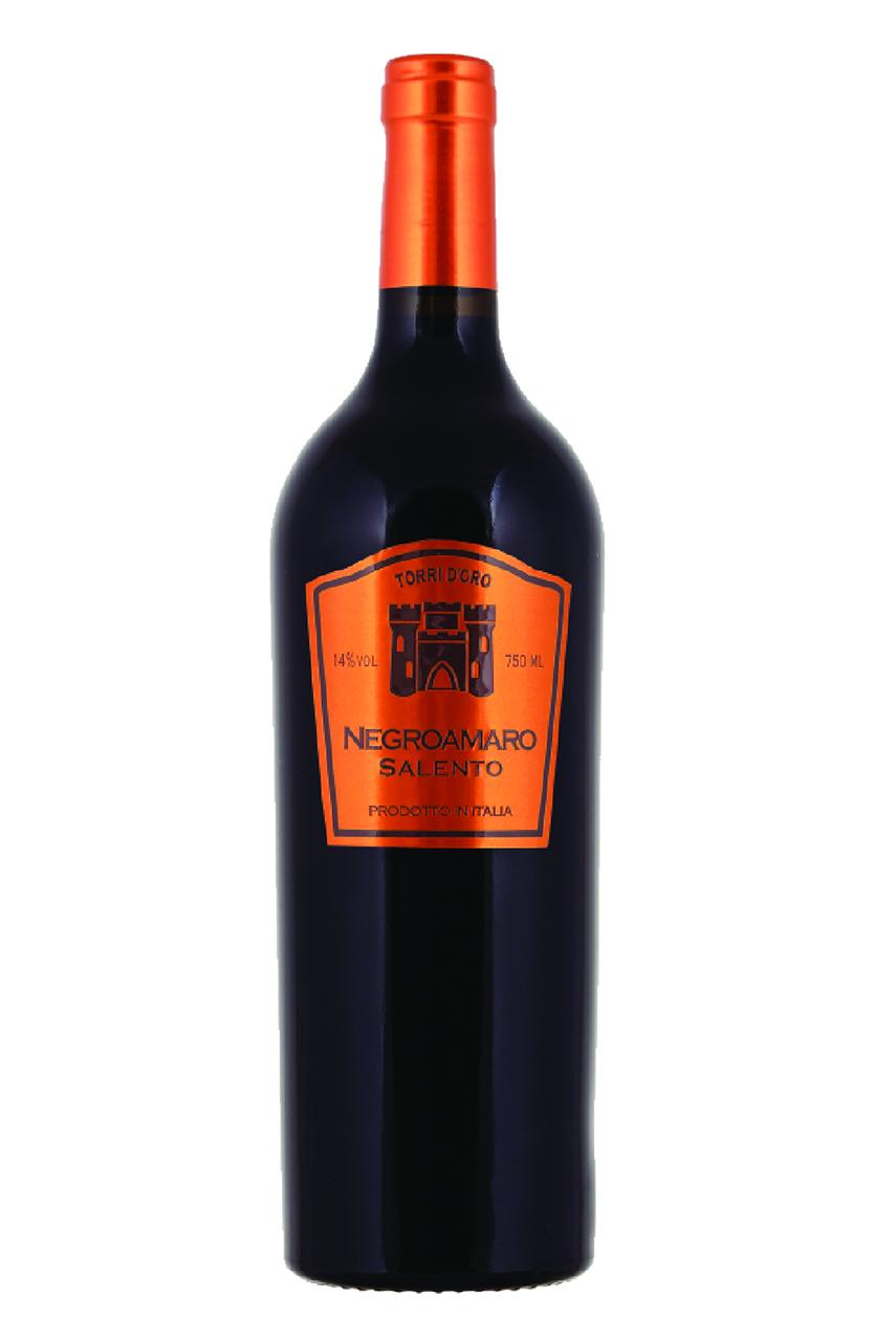 Rượu vang đỏ Ý Torri d'oro Negroamaro Salento